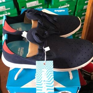 Apollo Moc Blue and Red Native Shoes!